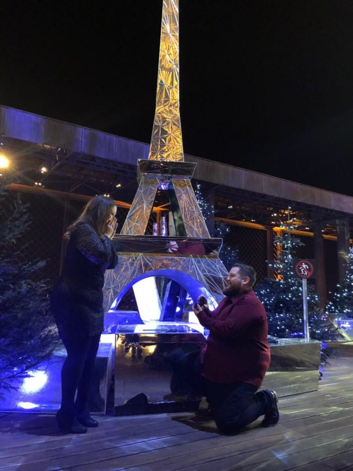 Brittney and Andrew's Engagement in Paris