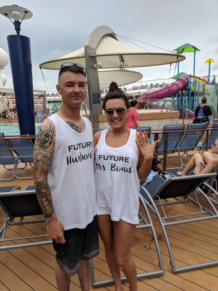Brianna and Brandon's Engagement in Royal Carribbean Cruise to the Bahamas