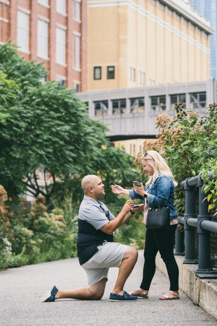 Where to Propose in The High Line in NYC