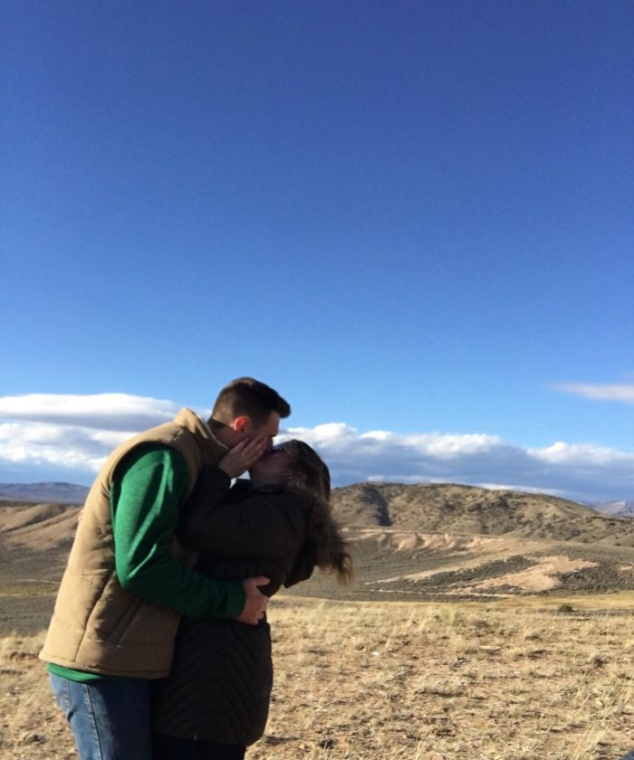 Alexandra and Danny's Engagement in Kremmling, Colorado
