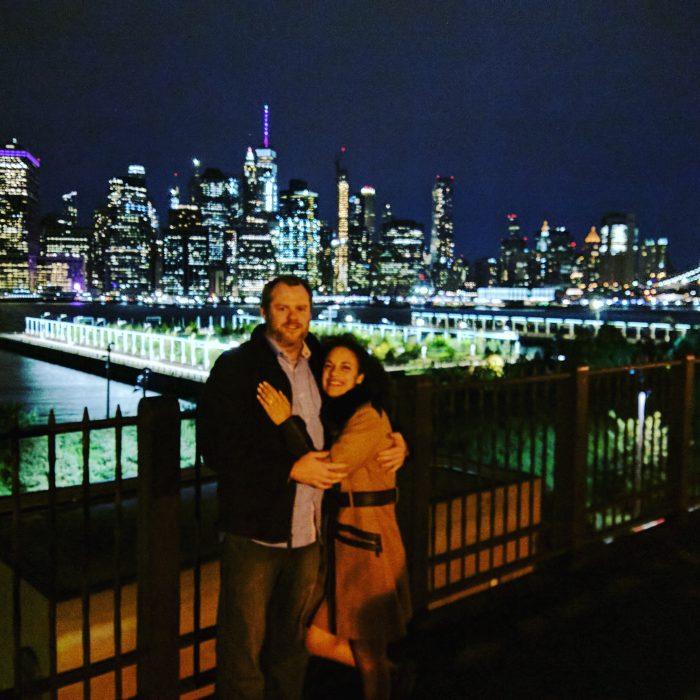 Marisa and Terry's Engagement in Brooklyn Promenade