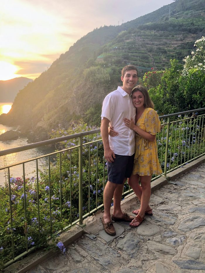 Abbey and Bryant's Engagement in Vernanzza, Cinque Terre, Italu