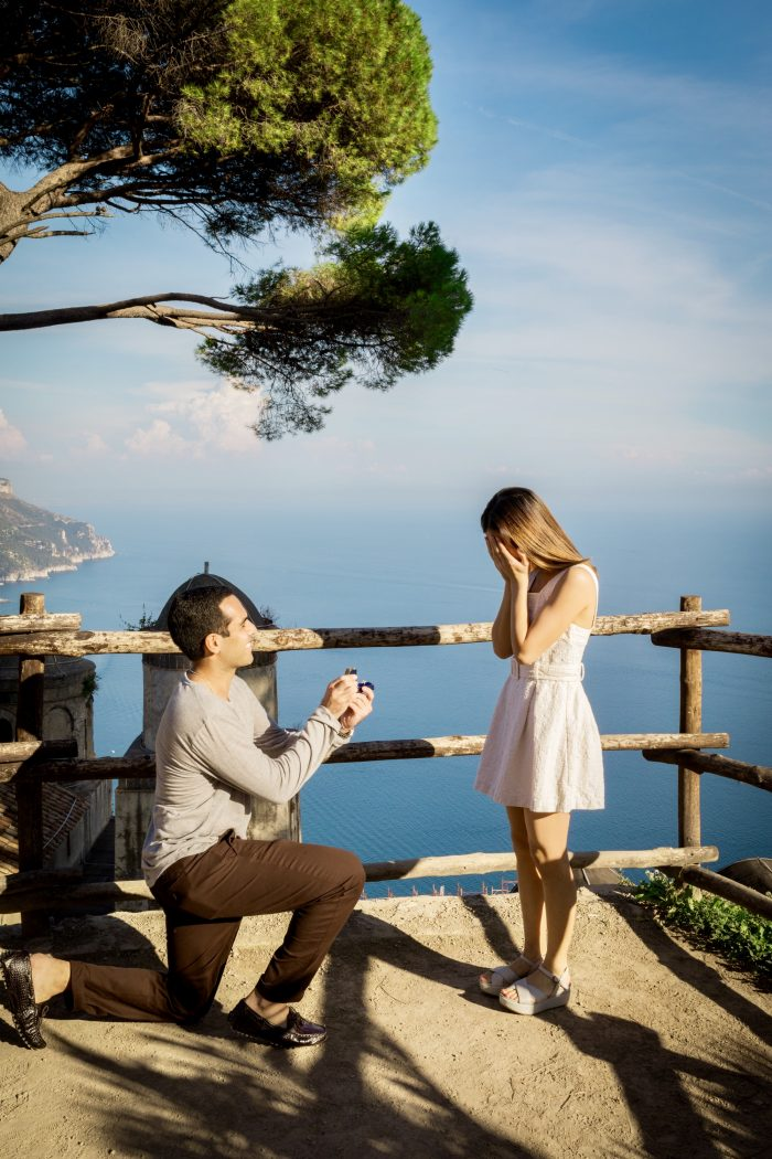 Valerie and Raj's Engagement in Ravello, Amalfi Coast, Italy