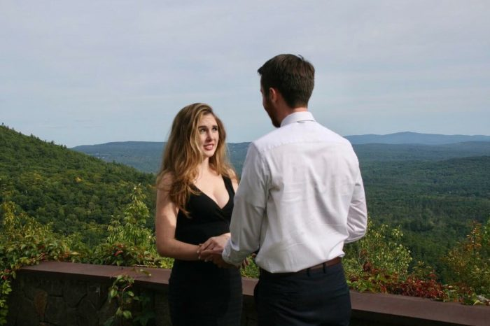 Marriage Proposal Ideas in Castle in the Clouds, New Hampshire