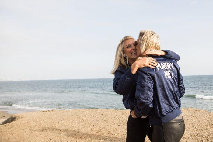 Megan's Proposal in Malibu, California