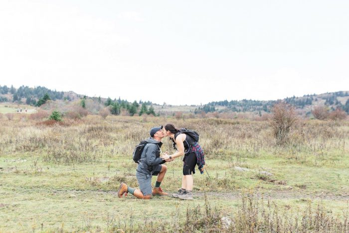 Christina's Proposal in Grayson Highlands, Virginia