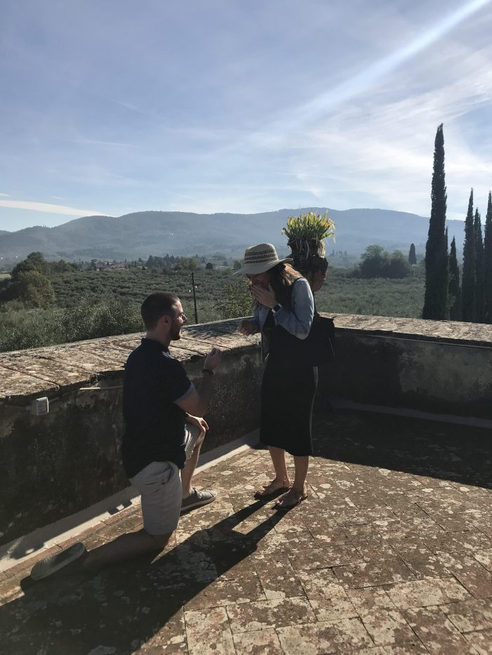 Marriage Proposal Ideas in Tuscany, Italy