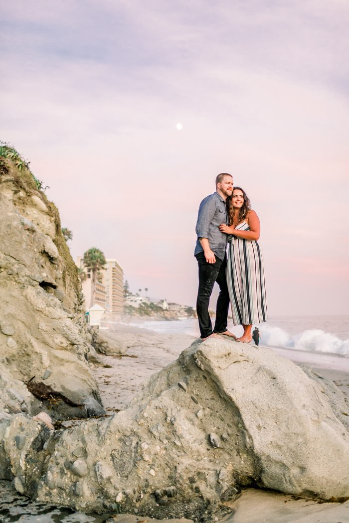 Wedding Proposal Ideas in Cress Street Beach, Laguna Beach