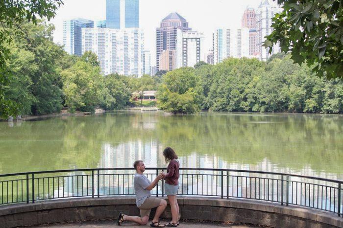Where to Propose in Piedmont Park, Atlanta GA