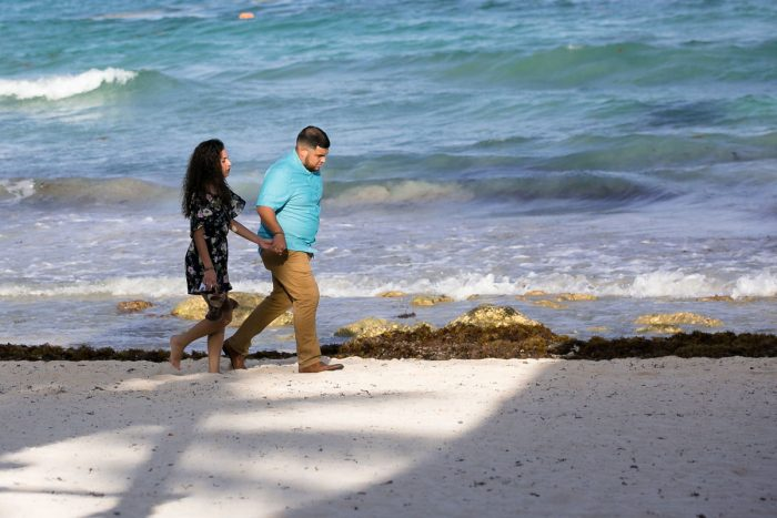 Engagement Proposal Ideas in Barcelo Maya Colonial, Mayan Riviera, Mexico.