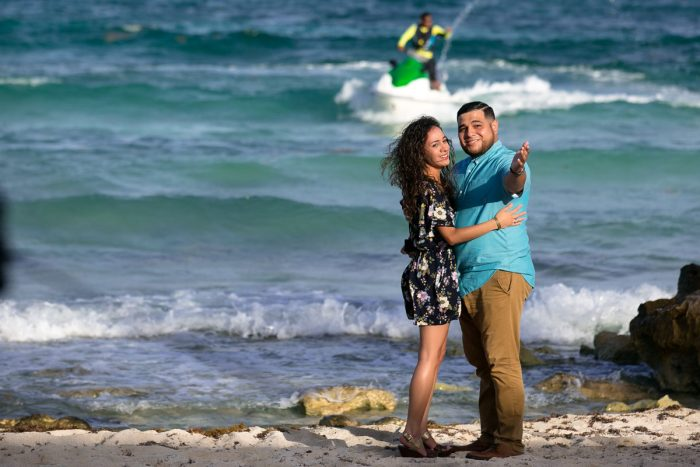 Wedding Proposal Ideas in Barcelo Maya Colonial, Mayan Riviera, Mexico.