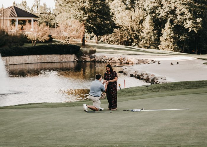 Marriage Proposal Ideas in Ballantyne Resort