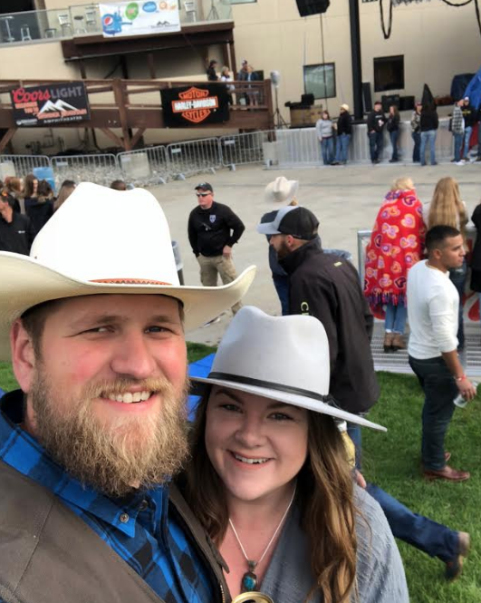 Engagement Proposal Ideas in Cody Johnson Concert in Loveland, Colorado