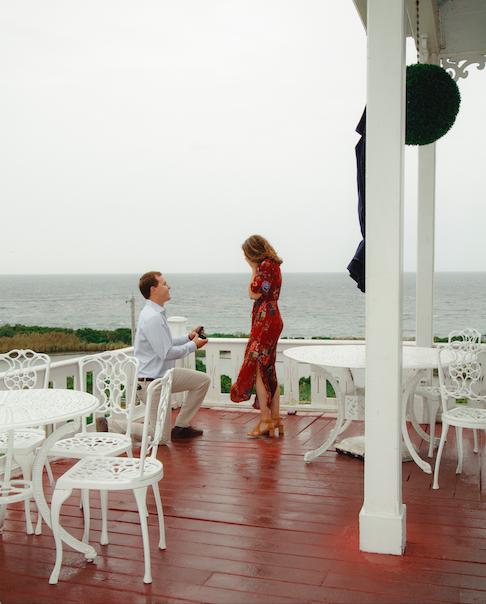 Wedding Proposal Ideas in Spring House Hotel, Block Island, RI