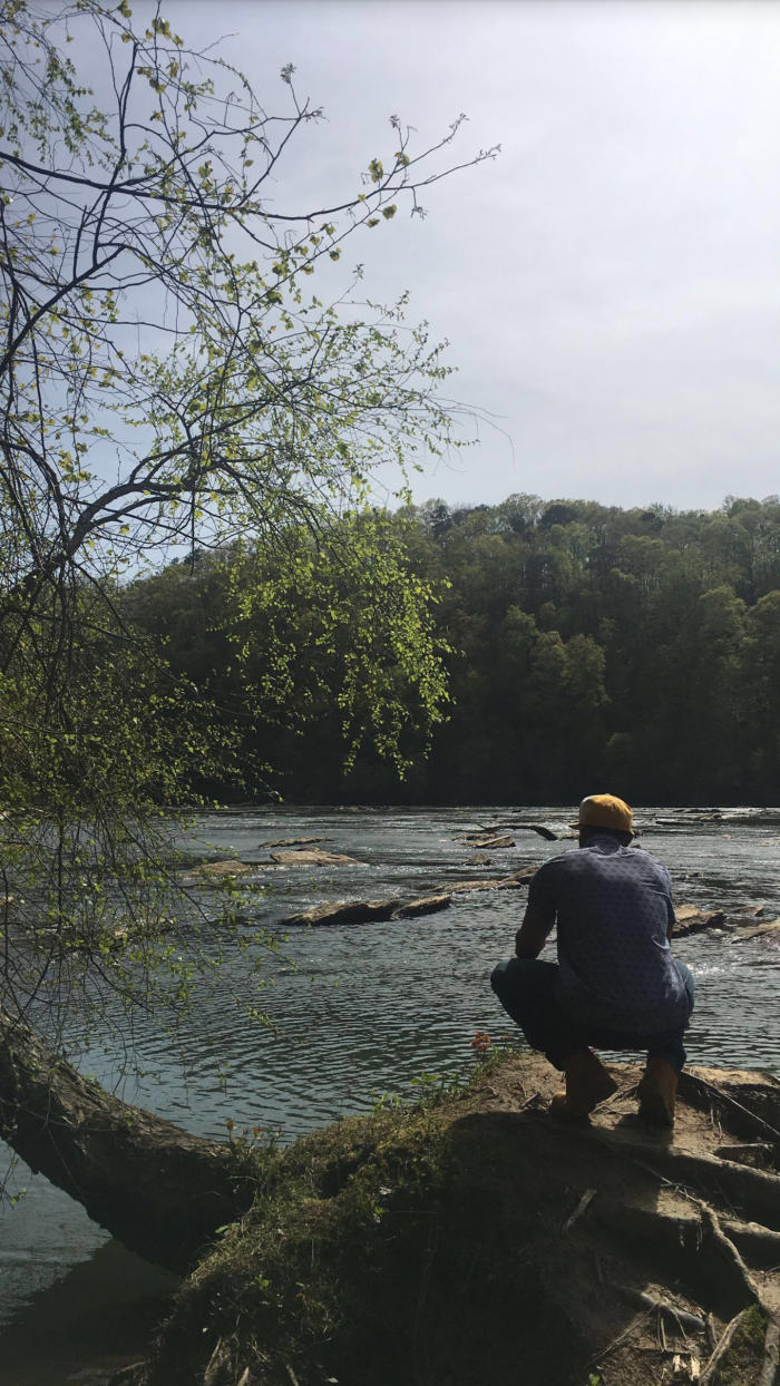 Engagement Proposal Ideas in Nature trail. Atlanta, Ga