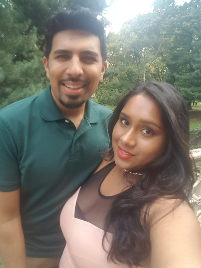 Kavita and Kevin's Engagement in Central Park