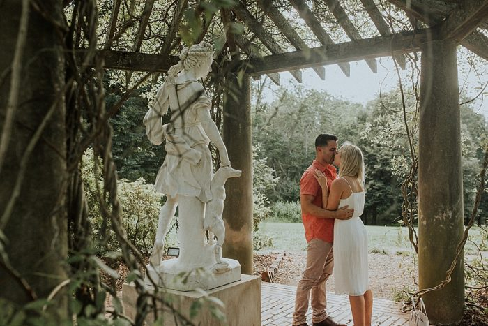Dixie's Proposal in The Biltmore Estate