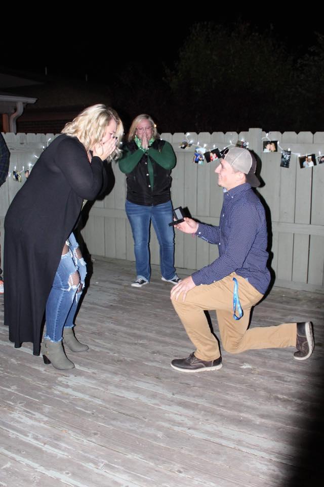 Emily's Proposal in Bourbonnais IL Sammys