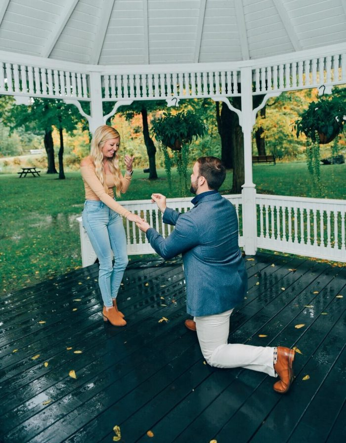 Marriage Proposal Ideas in Rochester Hills Michigan