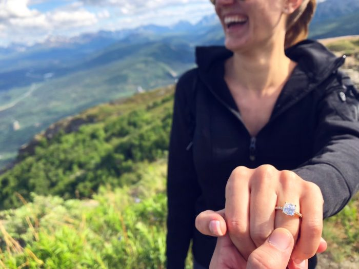 Where to Propose in On top of Mt. Healy in Denali National Park, Alaska