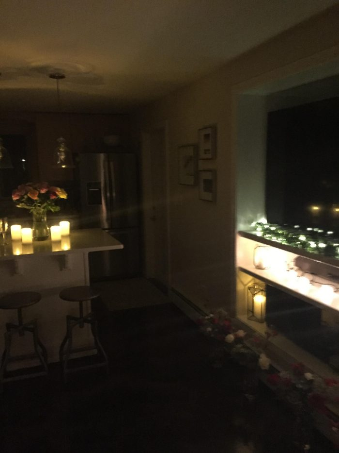Where to Propose in Our house in Peabody, MA