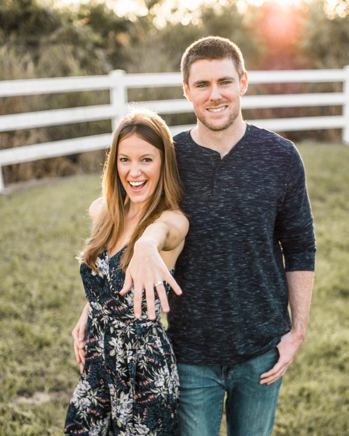 Danielle's Proposal in Disney Springs
