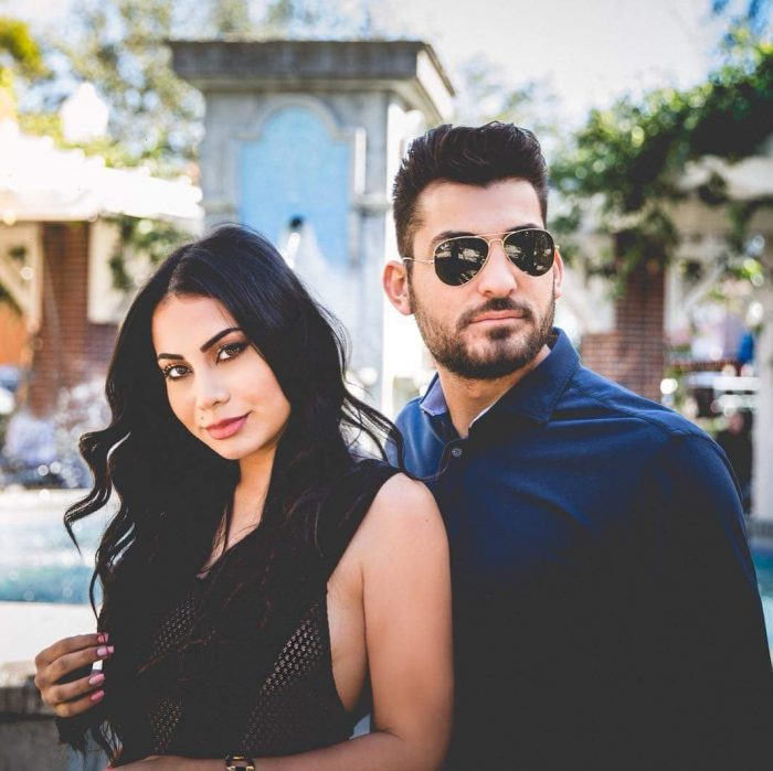 Guinwa and Samir's Engagement in Orlando, Florida