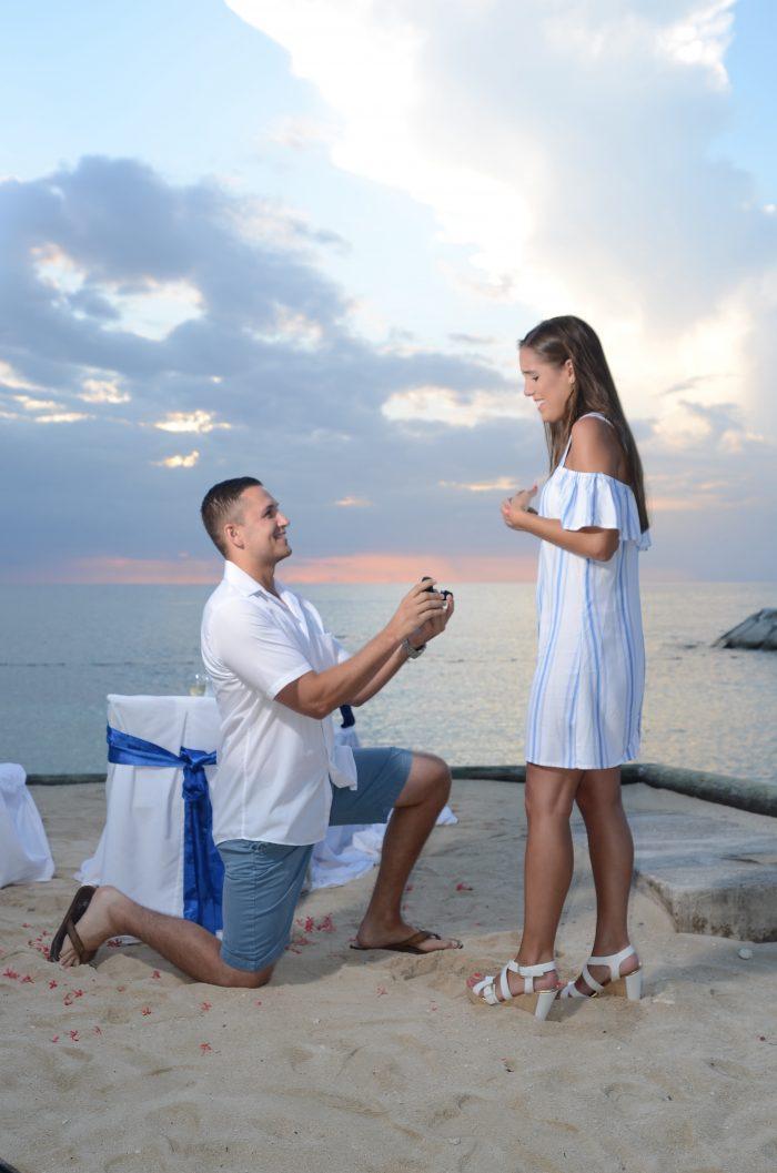 Engagement Proposal Ideas in Secrets St. James, Jamaica