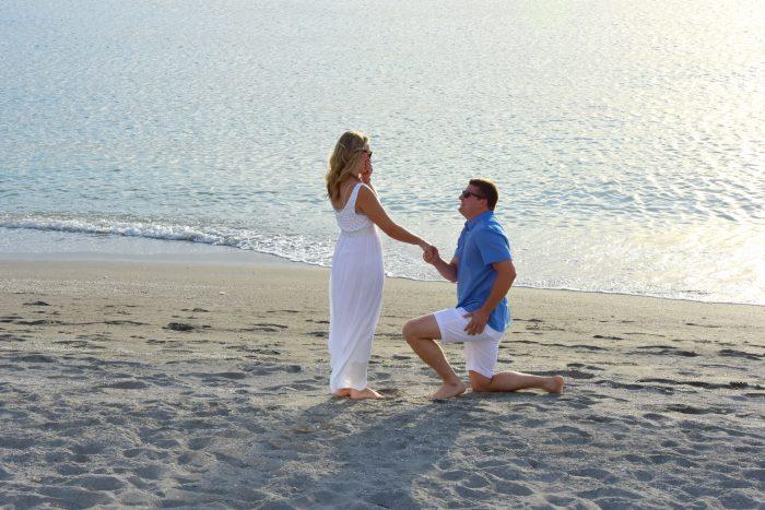 Marriage Proposal Ideas in Siesta Key, Florida