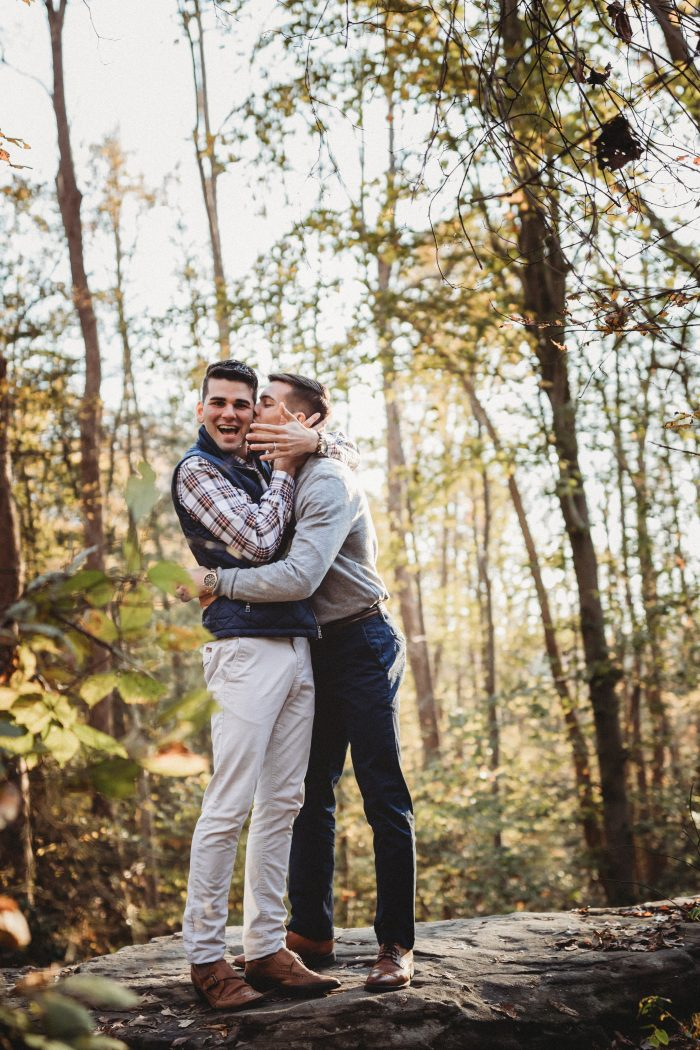 Javier and Michael's Engagement in Government Island in Stafford, Virginia