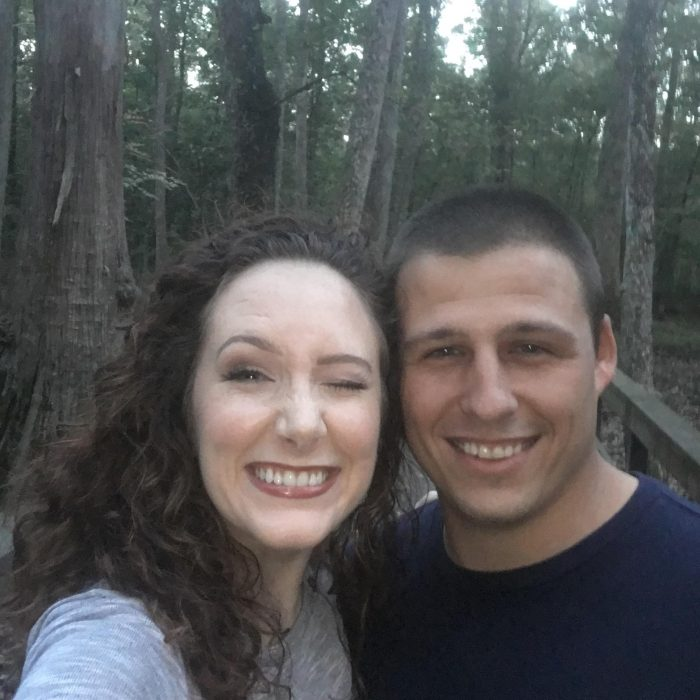 Tiffany and Grant's Engagement in Cypress Swamp, Madison County, MS