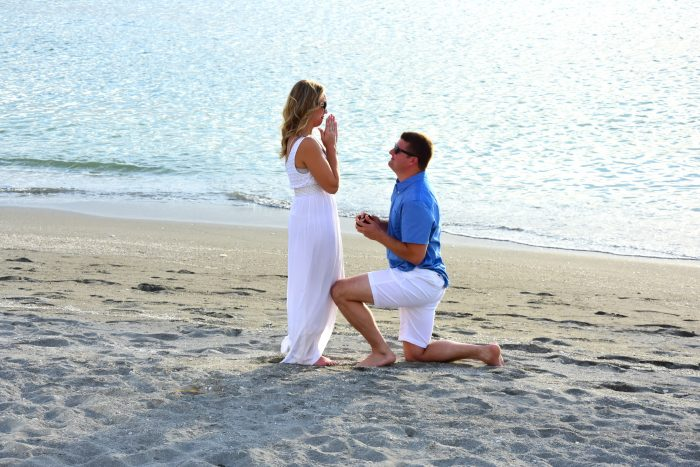 Rebecca and Christopher's Engagement in Siesta Key, Florida