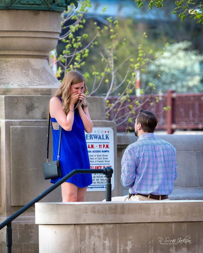 Marriage Proposal Ideas in Chicago
