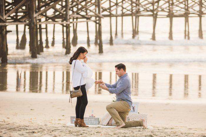Marriage Proposal Ideas in Pacific Beach, San Diego, CA