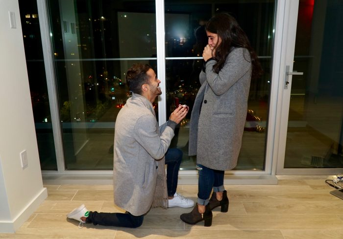 Jennifer's Proposal in New York City