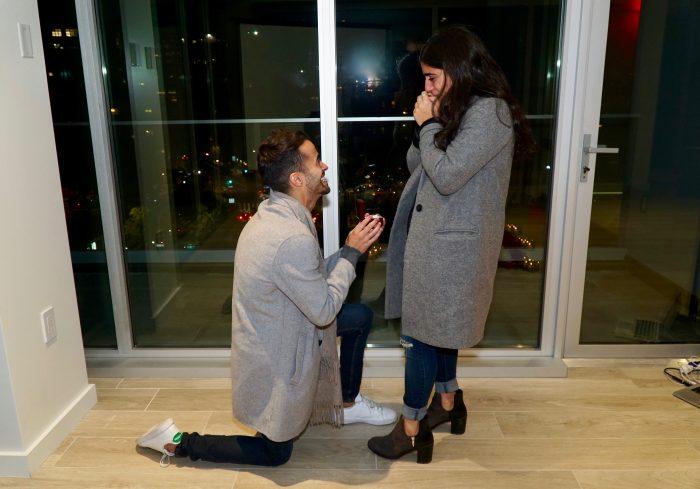 Jennifer's Proposal in New York City