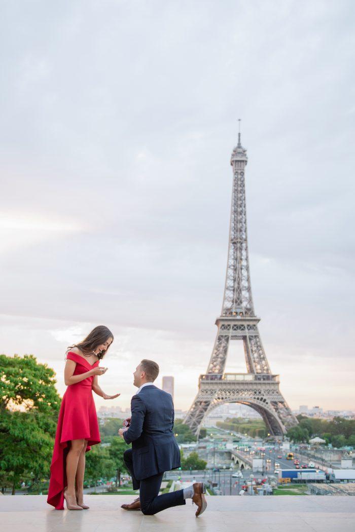 Danielle and Bret's Engagement in Paris!
