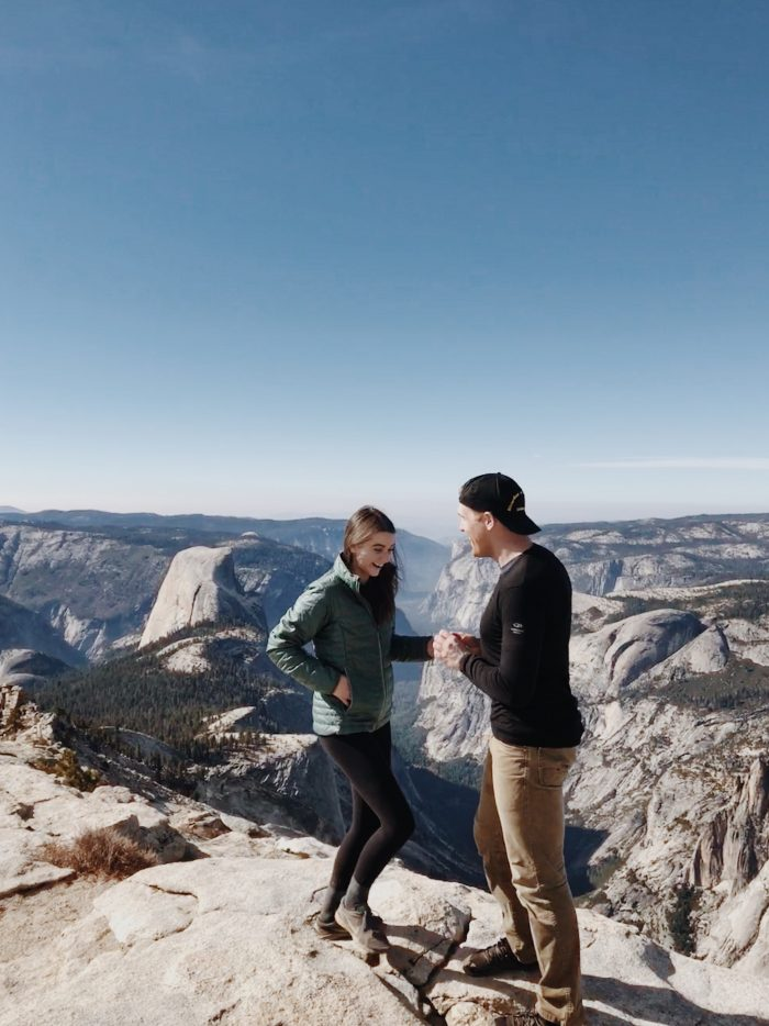 Engagement Proposal Ideas in Clouds Rest, Yosemite National Park