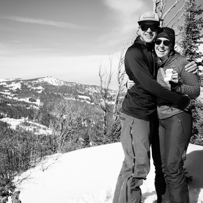 Wedding Proposal Ideas in On top of Baker Mountain, Steamboat Springs Colorado