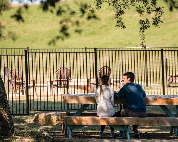 Natalie and Marcus's Engagement in Georgetown, Texas