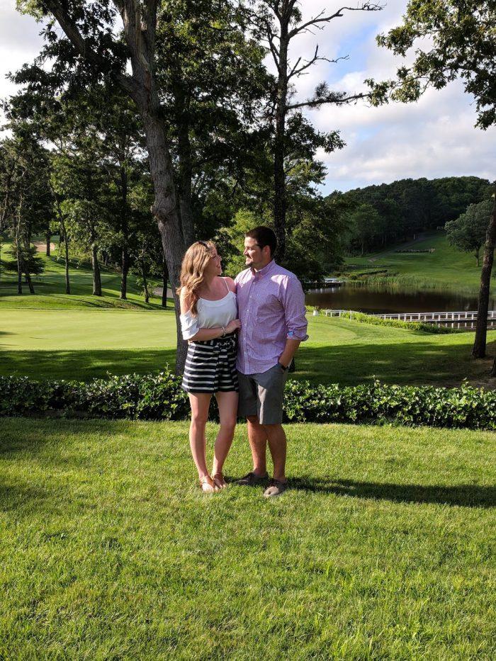 Amanda and Liam's Engagement in Newark, DE