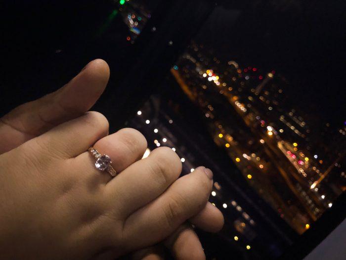 Jaeda's Proposal in Pier 57 in Seattle, WA