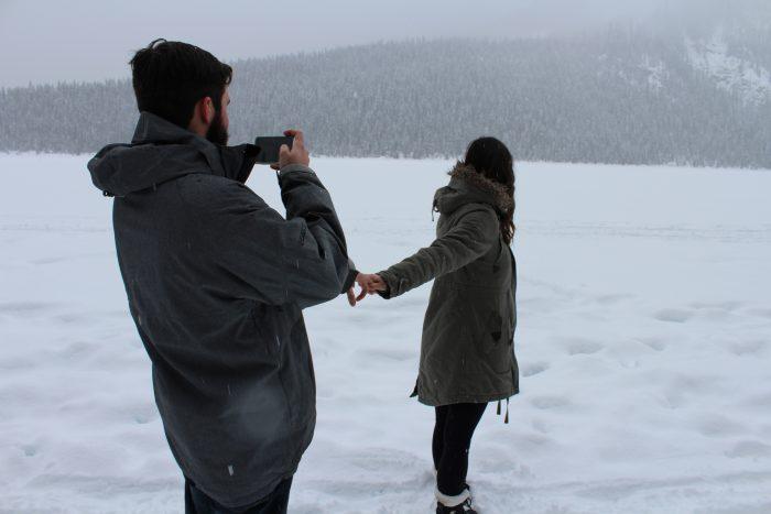 Wedding Proposal Ideas in Lake Louis, Alberta