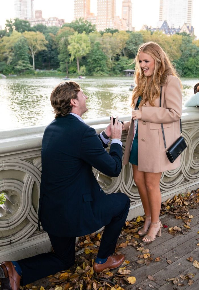 Savannah's Proposal in New York City