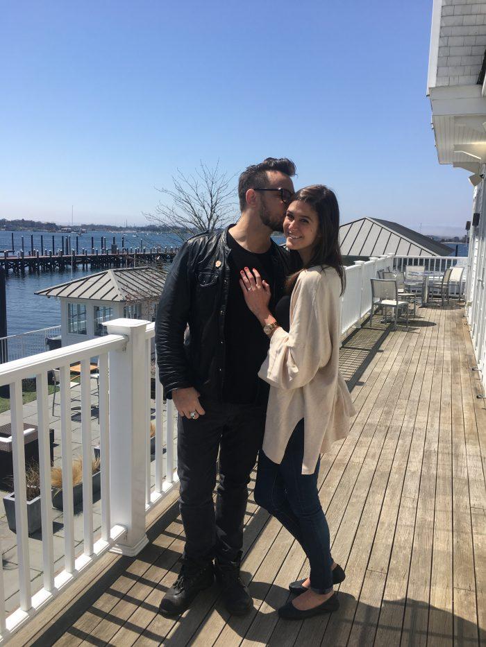 Jess and Scott's Engagement in Newport, RI