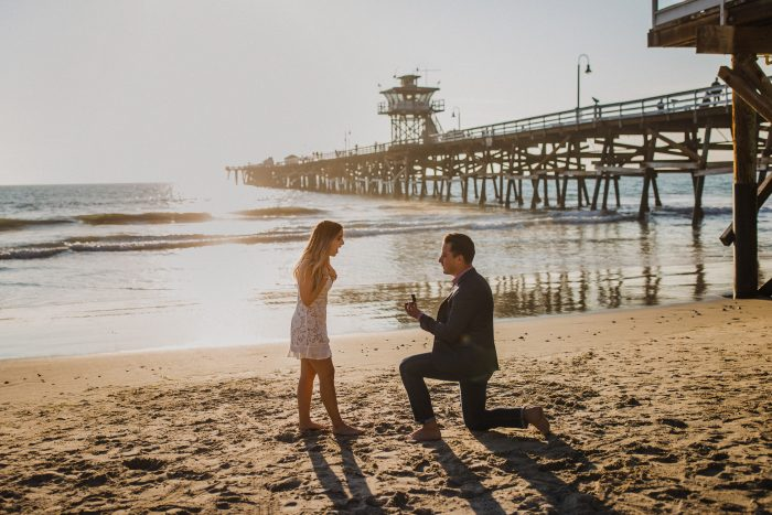Emily's Proposal in San Clemente, CA