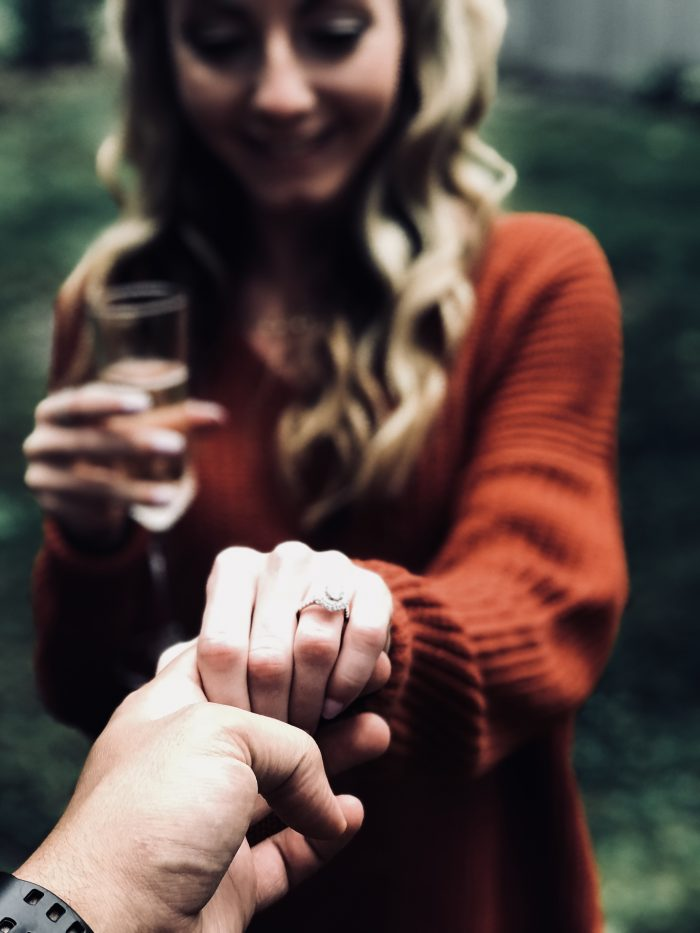 Marriage Proposal Ideas in Bash BIsh Falls State Park