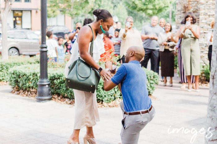 Where to Propose in Brasa, Raleigh NC