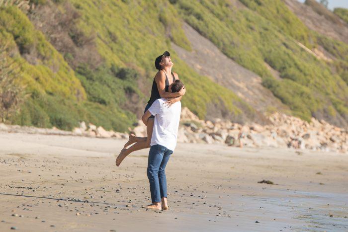 Jackie and Kyle's Engagement in Encinitas, California