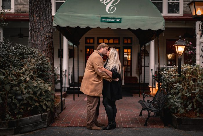 Meredith and Ben's Engagement in Pinehurst, NC